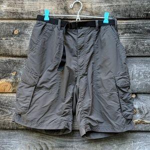 REI Lightweight Nylon Hiking Cargo Shorts